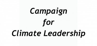 Campaign For Climate Leadership